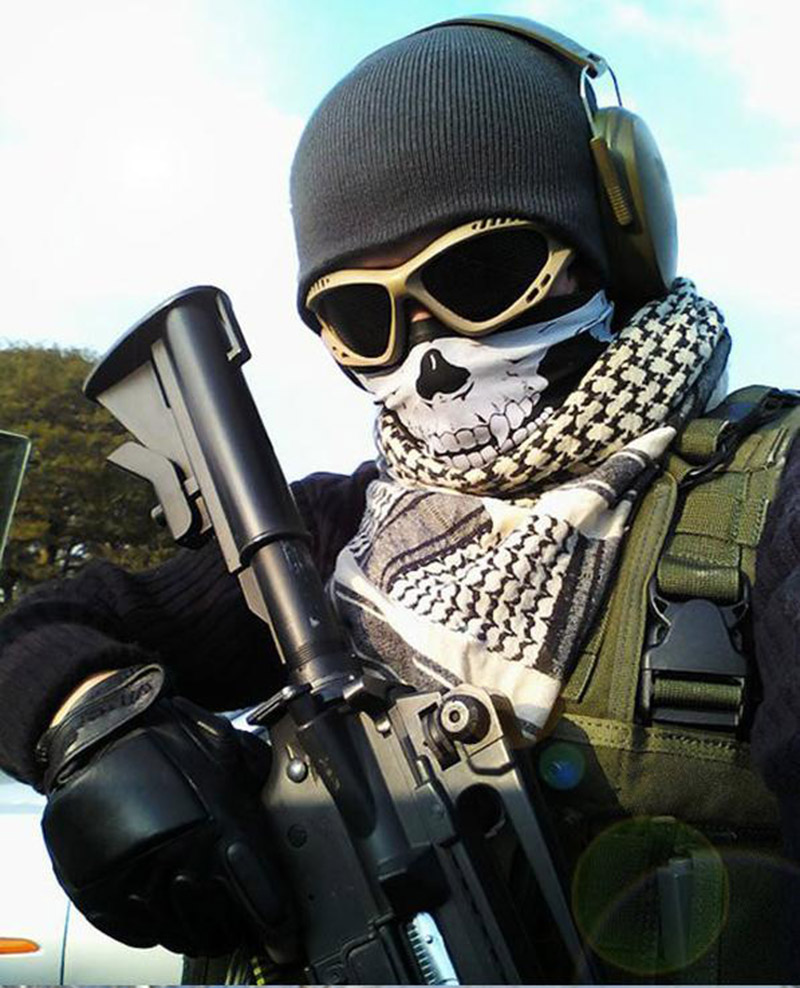 Aliexpress.com : Buy Halloween Skull Skeleton Party Masks Black ...
