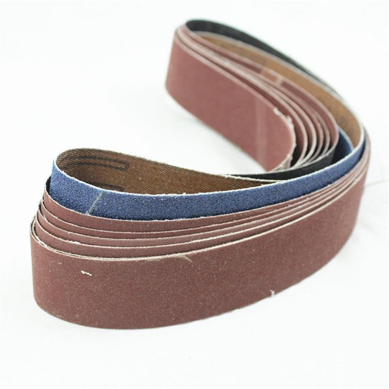 760x40mm Sanding Belt For Metal Polishing Grit 60 80 120 180 240 320 600 800 Tube Belt Sanders Wool Polishing Belt