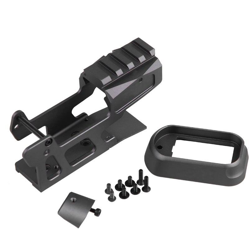 Tactique de Chasse Accessoires Montage RMR Pour Pistolet Gen3 Glock 17 18C 22 24 31 34 35 pour 20mm Picatinny rail HT37-005152