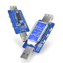 Detector USB QC2.0 QC3.0, medidor de corriente de voltaje, voltímetro, amperímetro, gatillo de potencia, LCD Digital, DC 4V-28V