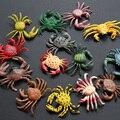 De Plástico de primavera de Cangrejo Juguete Miniaturas Jardín Soldado Modelo de Simulación de Animales Marinos de cangrejo Ermitaño Cangrejo Adornos de Juguete de Verano