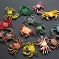 Spring Plastic Crab Toy Miniatures Garden Simulation Model of Marine Animals Hermit crab Soldier Crab Toy Ornaments  Summer
