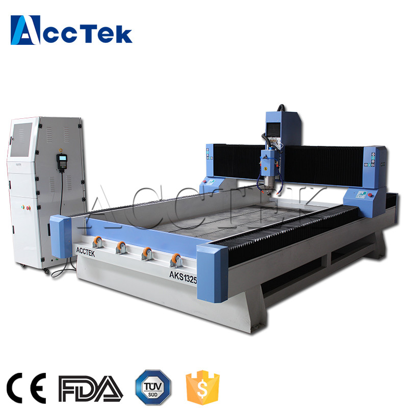 High performance AccTek cnc router kit 1325 stone engraving router