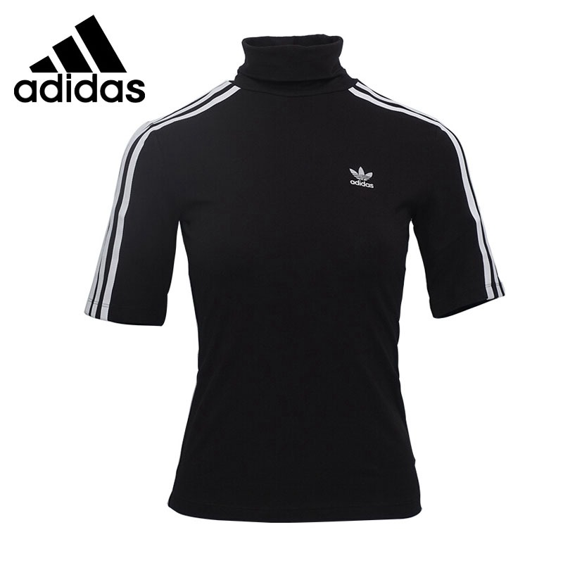 цены Original New Arrival 2018 Adidas Originals 3 STR T-SHIRT Women's T-shirts short sleeve Sportswear