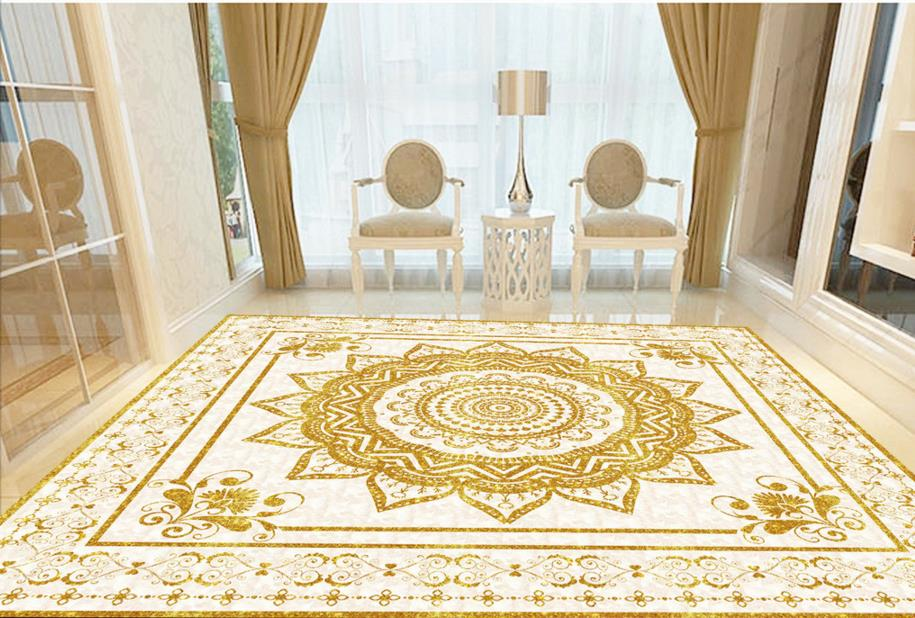 High quality 3d simple fashion pattern floors mural bathroom 3d floor  murals custom 3d flooring tiles Papel de parede-in Wallpapers from Home  Improvement on ...