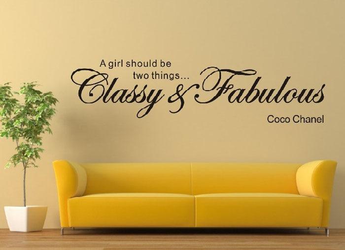 classy fabulous removable art vinyl mural home room decor wall ...