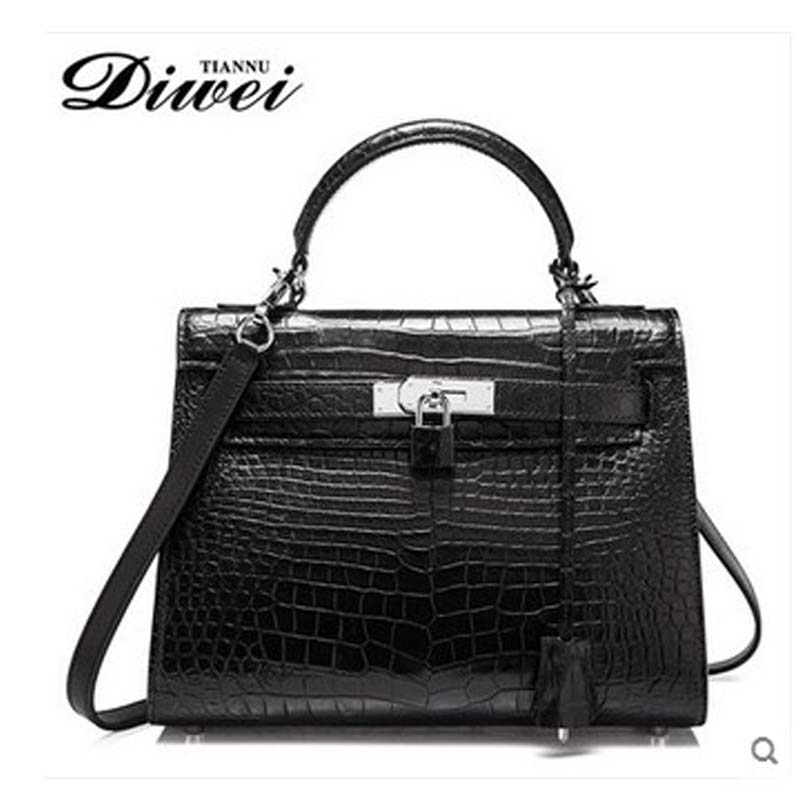 diwei 2017 new hot free shipping women bag real crocodile handbag single shoulder inclined bag  female bag fashion women bag yuanyu 2017 new hot free shipping crocodile women handbag single shoulder bag large capacity high end female bag