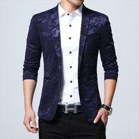 2019 New Men Dress Jacket Slim Design Fashion Men Leisure Coat Size 5XL