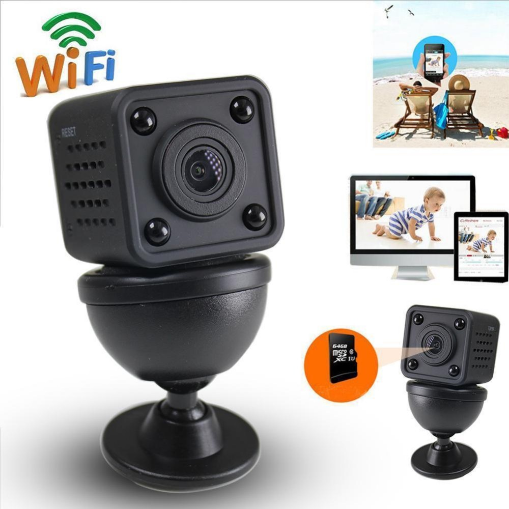 Wifi IP Mini Camera Wireless 1080P HD Infrared Micro IR Night Vision Body Camera Magnetic Motion Detection Mini DV
