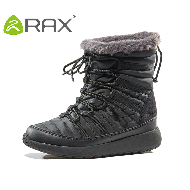 2017 RAX Winter Snow Boots For Women Winter Hiking Shoes Women Breathable Outdoor Sneakers Warm Hiking Boots Woman peak sport men outdoor bas basketball shoes medium cut breathable comfortable revolve tech sneakers athletic training boots