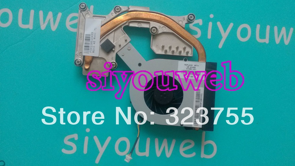 NEW for HP Probook 4520 4525S 4720S Laptop Cpu Cooling Fan & Heatsink 613291-001 good quality 4530s laptop fan for hp probook 4535s 4730s cpu cooling fan new original 8460p 6460b laptop cpu cooling fan cooler