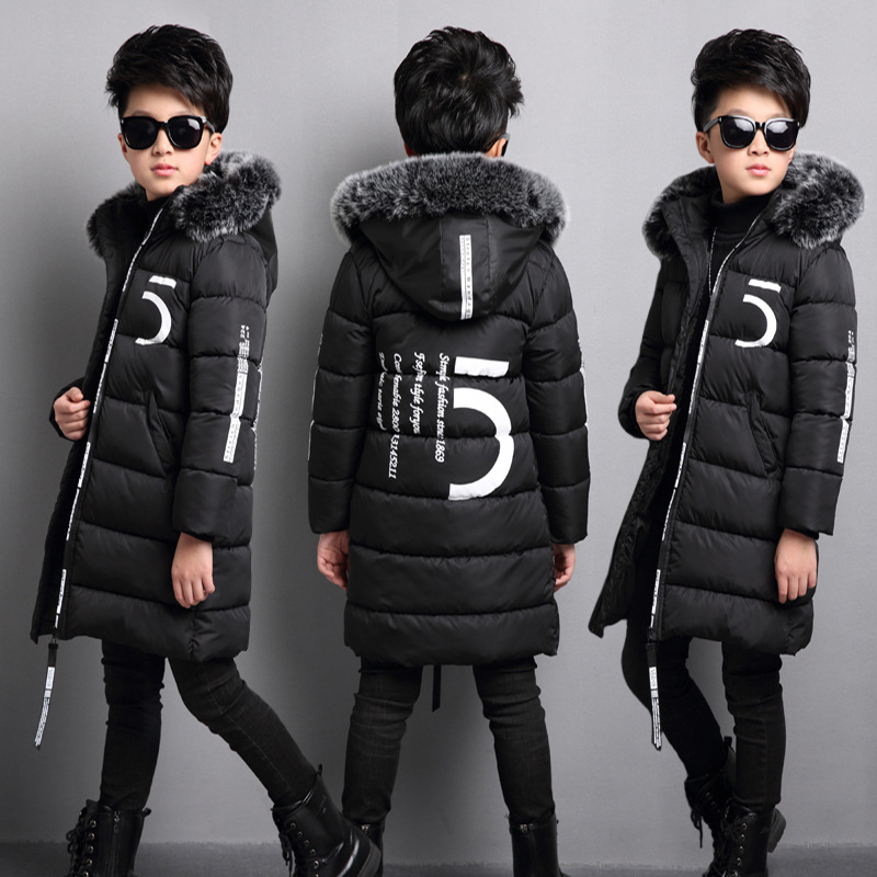 Boys clothes winter kids down jackets outerwear coats down parkas children jackets for Boys down coat fur collar girls coats children winter coats jacket baby boys warm outerwear thickening outdoors kids snow proof coat parkas cotton padded clothes
