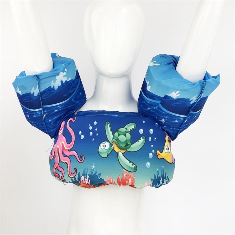 Usia 2-6 Busa Kartun Bayi Arm Cincin buoyancy rompi bayi garmen - Olahraga air - Foto 6