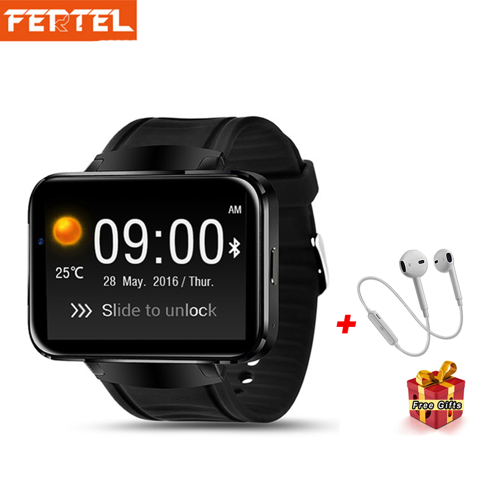 DM98 Smart Watch Men Android 3G Smartwatch Phone GPS 2.2 inch MTK6572A Dual Core SIM Card Wifi Bluetooth 4.0 Wristwatch цены