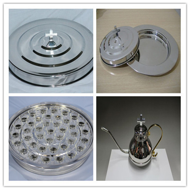 Hot Brand New Silverstone Stainless Steel Communion 1 Tray Set 1