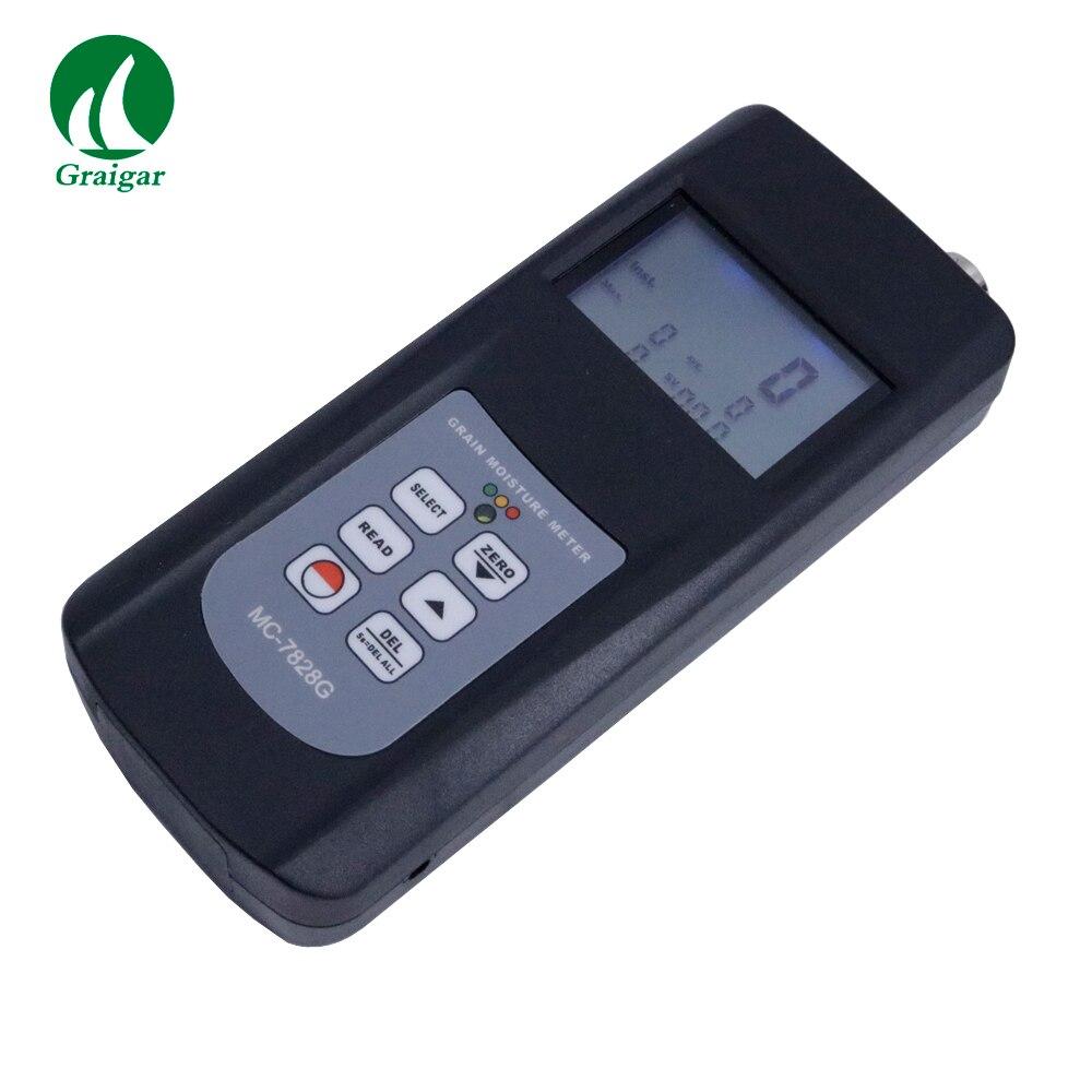 MC7828G измеритель влажности зерна Тип чашки цифровой измеритель влажности может измерять 22 вида зерна магазин 240 групп измерений