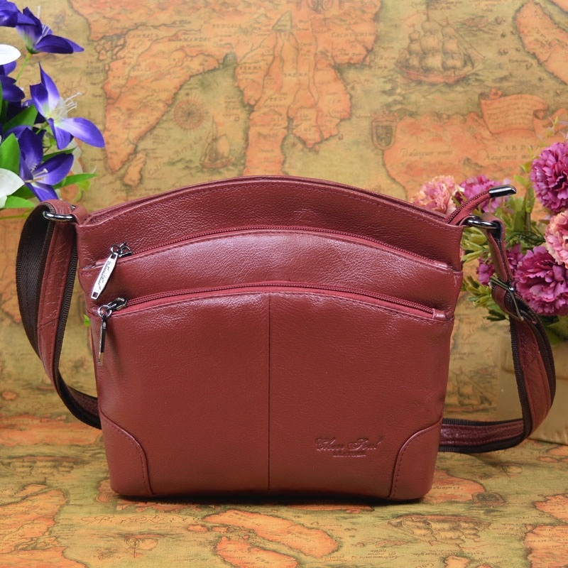 Cheer Soul Brand Designer Women's Crossbody Bag Fashion Genuine Leather Shoulder Bags For Female Casual Bag Ladies Handbag  #211 cheer