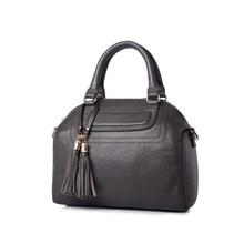 New Women's Handbag Pendant tassel fashion leather shell bags shoulder bag diagonal cross bag high quality