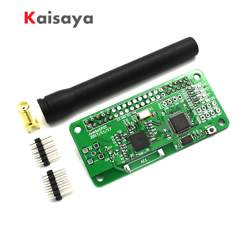 New Version VHF UHF MMDVM hotspot pi-star Support P25 DMR YSF for raspberry pi With Antenna A10-02(China)