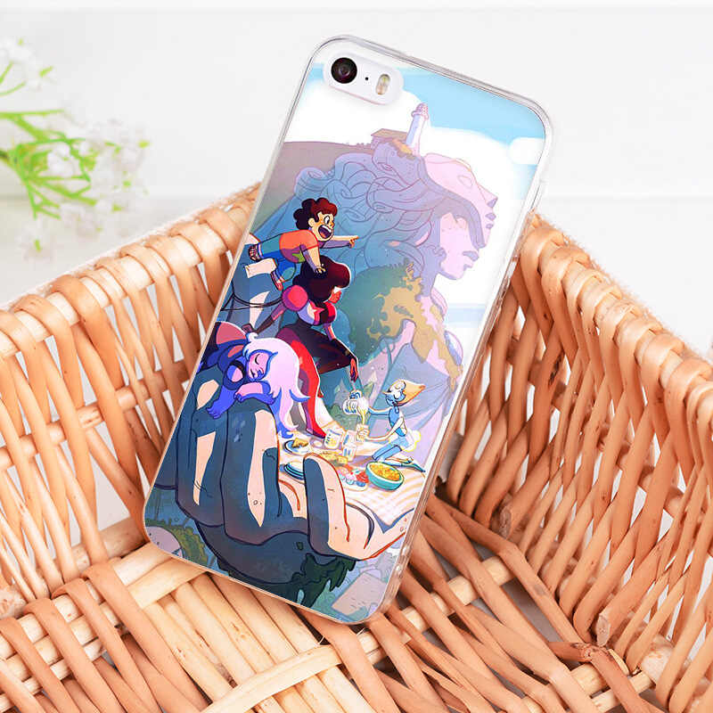 MaiYaCa Cartoon Steven Universe Coque Fall für iphone 11 Pro 8 7 6 6S Plus X XS XR XSMAX 4S