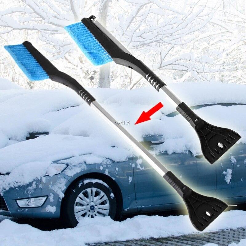 Große Auto Fahrzeug Winter Schnee Eis Schaber Schnee Pinsel Schaufel Entfernung Pinsel großhandel