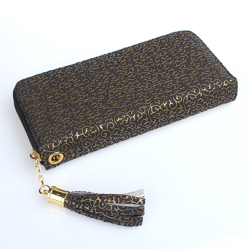 New 2018 Luxury Brand Women Long Wallet PU Leather Money Bag Zipper Wallet Coin Clutch Female Credit Card Holder Lady Purse