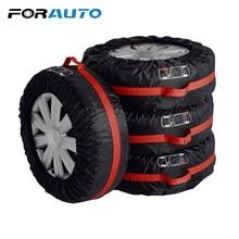 4 шт./компл. Водонепроницаемый пыли сумка для хранения шин автомобиля запасного колеса колесный протектор автомобиль-Стайлинг S L размеры протектора шин
