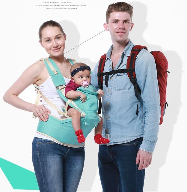 Хлопок Талии Стул Ходунки Кенгуру Плечи Младенческая Hipseat Подтяжки Стропы 5 Способа Детские Wrap рюкзак Для Матери Подарок