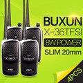 4 PCS BUXUN UHF400-480MHz X-36TFSI Walkie Talkie 8 W Dual Band Rádio Portátil CB Radio