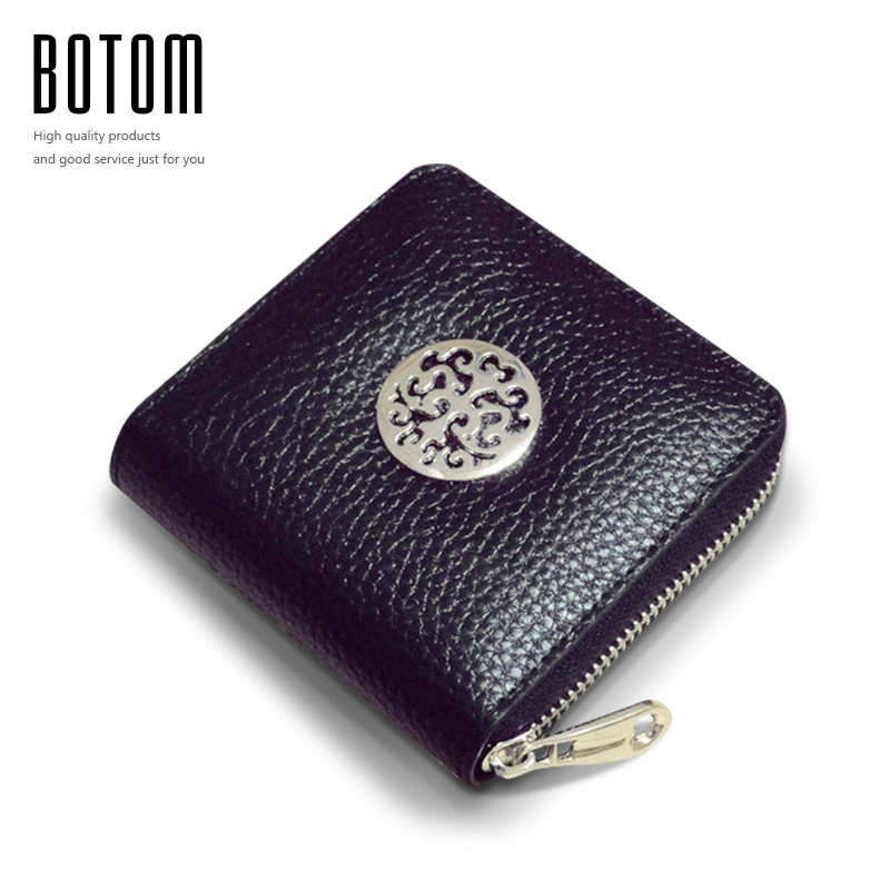2016 New Genuine Leather Wallet Women Mini Wallets Small Purses Coin Purse Women Clutch Purses Carteira Feminina High Quality 2017 genuine cowhide leather brand women wallet short design lady small coin purse mini clutch cartera high quality