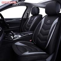 luxury Flax car seat covers for KIA K2 K3 K4 K5 K7 Kia Cerato Sportage Optima Maxima carnival rio ceed Automobiles Seat Covers