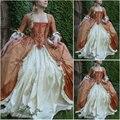 2017 novo! cliente-feito dress1860s scarlett guerra civil southern belle dress marie antoinette vitoriana vestidos us4-36 c-957