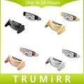 2 Pieces/Pair Venda de Reloj de Acero Inoxidable Adaptador Conector + herramienta para samsung gear s2 sm-r720/sm-r730 negro plata rosa oro