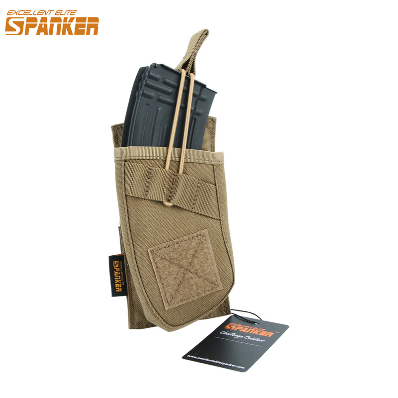 EXCELLENT ELITE SPANKER Outdoor Tactical AK47 Magazine Pouch Hunting Military Molle Ammo Clip Pouch Cartridge Bag Accessories