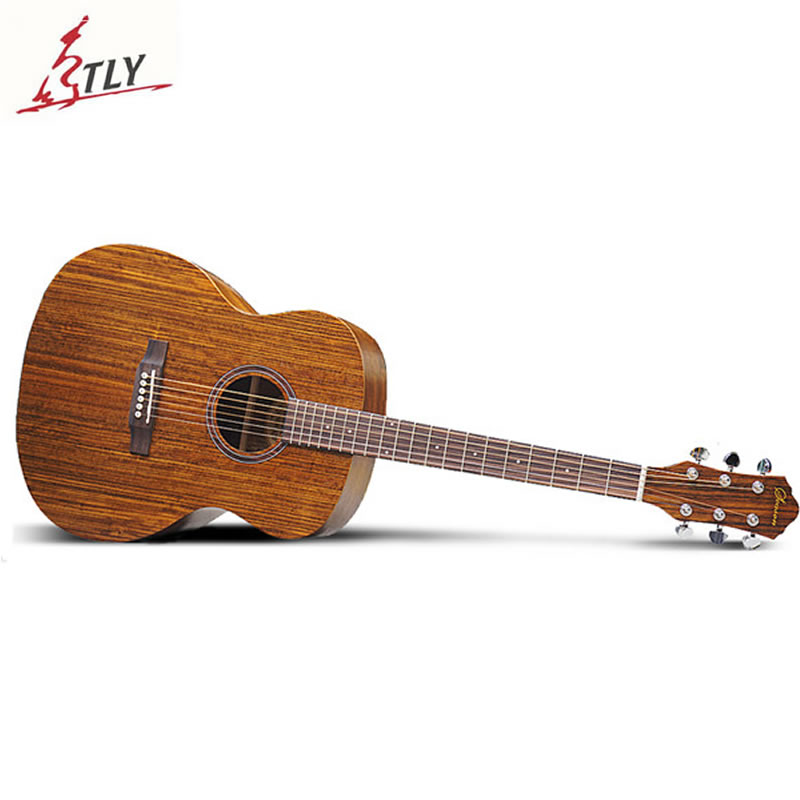 SAYSN 41 Mahogany Acoustic Guitar Rosewood Fingerboard Circular Bead Guitarra Musical Instrument for Beginner Students Novice diduo 40 inch 41 acoustic guitar beginner entry student male and female instrument wound guitarra