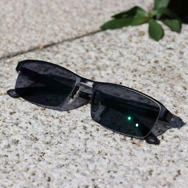 KJDCHD/Neue Qualität Photochrome Myopie Presbyopie männer Gläser Fashion Square halb Rand Klassische Lesebrille für Männer