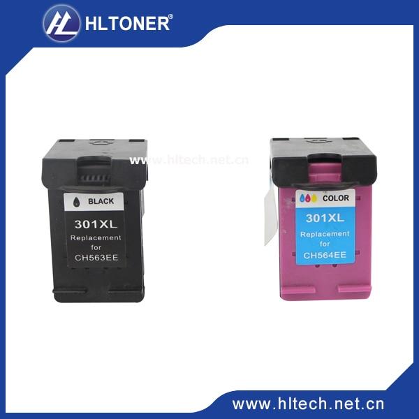 2 stücke Kompatibel tintenpatrone hp301XL hp301 für Deskjet 1000 1050 2000 2050...