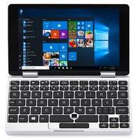 Один Нетбуки один микс Йога карман для ноутбука 7,0 ''Планшеты с клавиатурой для Windows 10,1 4 ядерный процессор Intel Atom x5 z8350 8 ГБ + 128 ГБ тетрадь