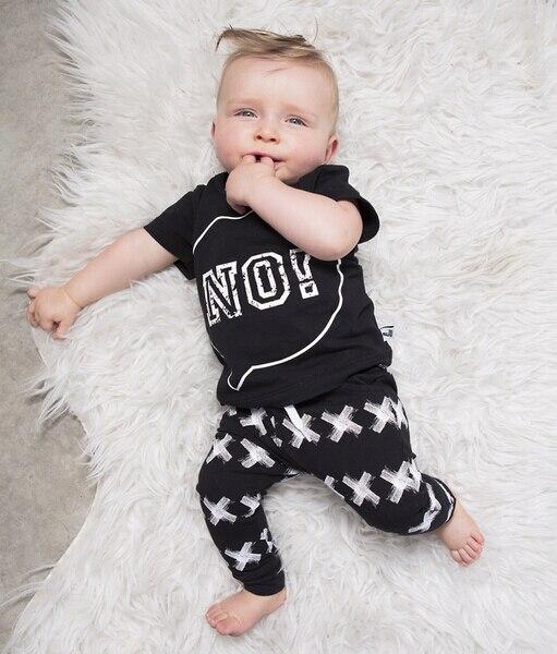 black newborn pants