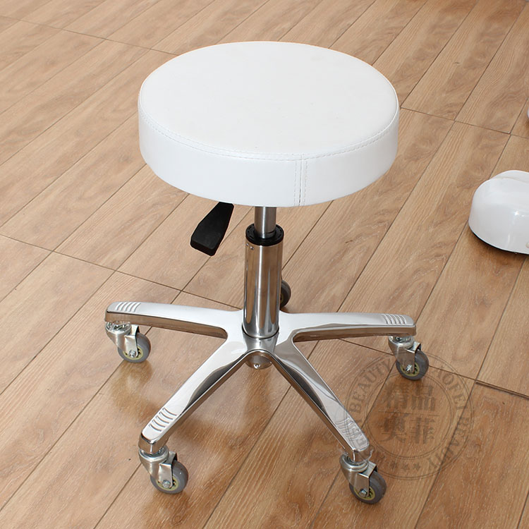 Beauty stool. Hairdressing chair. Master stool.. Swivel chair lift chair stool. Sliding wheelchair makeup stool the bar chair hairdressing pulley stool swivel chair master chair technician chair