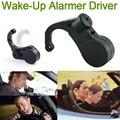 Negro Oído de Wake-Up Alarmer Seguridad Vial Warner Drive Mantener Anti-sueño de Alarma Soñoliento Awake Doze Nap coche de Seguridad de Alerta