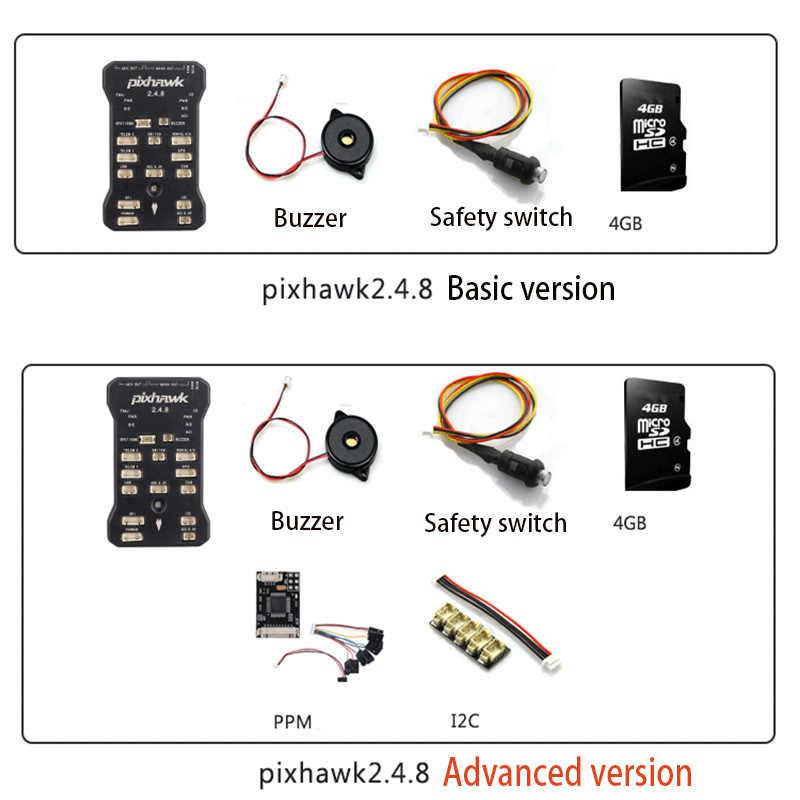 Pixhawk Px4 Autopilot Pix 2 4 8 32 Bit Flight Controller for