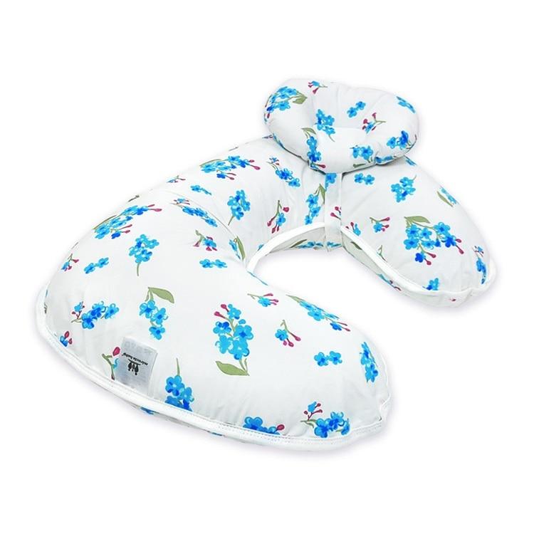Подушка для кормления грудью многофункциональная детская подушка для кормления материнская поясная подушка u-образная Подушка для кормления ребенка - Цвет: lansexiaohua