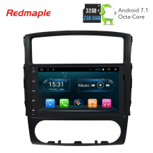 9″ Octa Core Android 7.1 Car Radio GPS Navigation Multimedia Player For Mitsubishi Pajero 2006-2011 Auto Audio Stereo Headunit