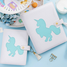 Lovedoki kawaii Unicorn Spiral notebooks and journals A5A67 Planner Personal daily book Dokibook notebook gift Stationery