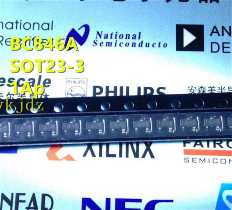 1 шт. /лот, BC846A 1A BC846ALT1G BC846B 1B BC846BLT1G SOT-23, новый Oiginal продукт новый оригинальный быстрая доставка