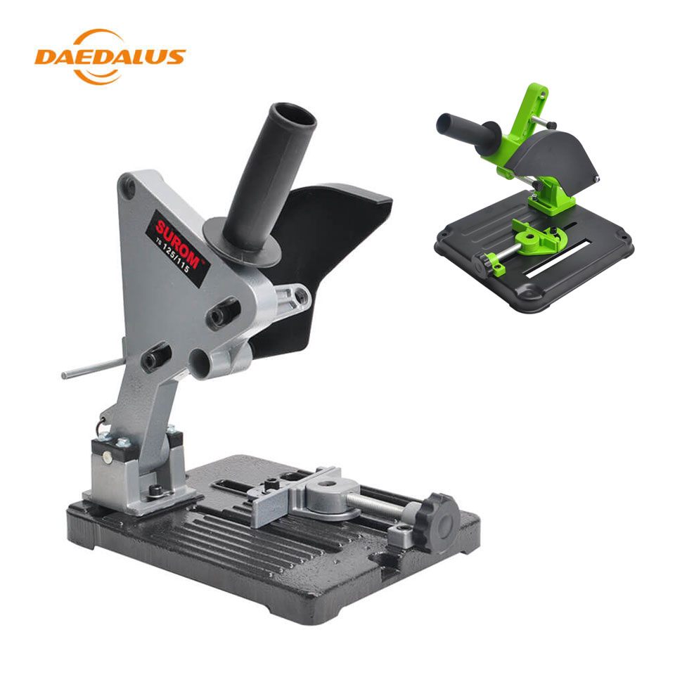 Daedalus Angle Grinder Stand Angle Grinder Aluminum Bracket Iron Base Bracket Holder Support for 100 125 Angle Grinder Cutting-in Power Tool Accessories from Tools    1