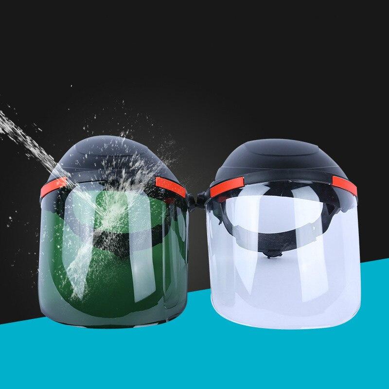 New Transparent Lens Anti-UV Anti-shock Welding Helmet Face Shield Solder Mask Face Eye Protect Shield Anti-shockNew Transparent Lens Anti-UV Anti-shock Welding Helmet Face Shield Solder Mask Face Eye Protect Shield Anti-shock