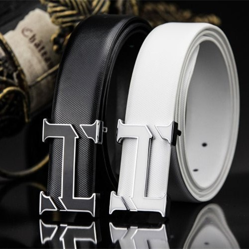 Belt 2015 h new arrival men brand designer leather belts for business men which high quality and luxury for man buckle
