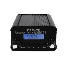 DHL 1W/7W LCD CZE-7C Power Stereo PLL FM Radio Broadcast Station Transmitter JF1108